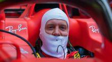 Locker wie lange nicht: Vettel betreibt Eigenwerbung