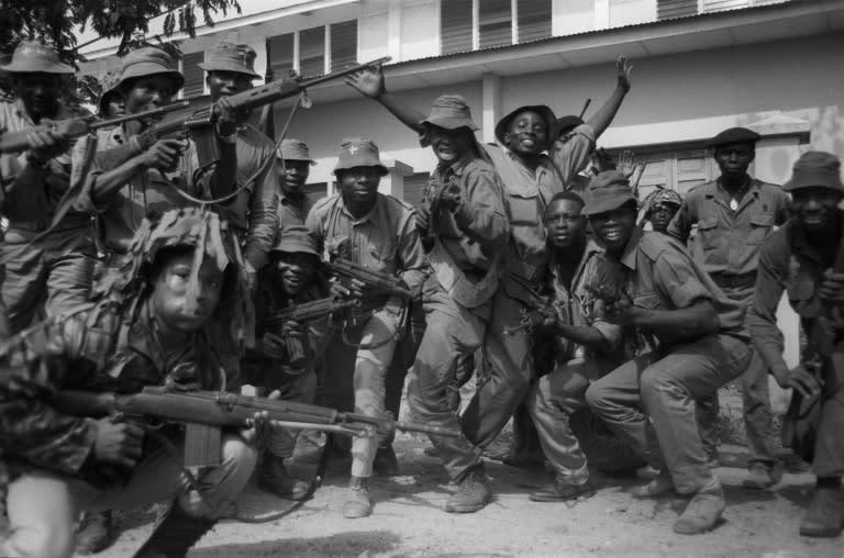 The Biafran civil war killed more than a million people