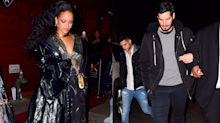 Rihanna celebrates epic Grammy night with boyfriend Hassan Jameel
