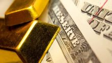 Dollar Dims While Gold Shines