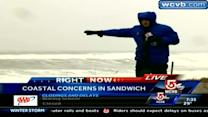 Sandwich, Cape battered by storm