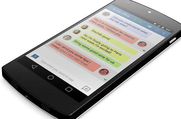 App turns a smartphone into a speech translator for the deaf