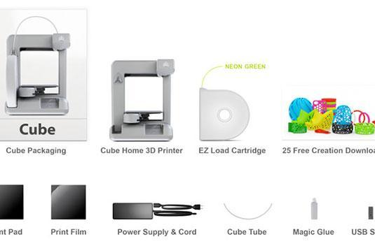 Cubify's 3D printer up for pre-order, wants to make you make trinkets
