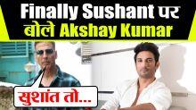 I agree, drugs exists in Bollywood, says Akshay Kumar & pays Gratitude to Sushant