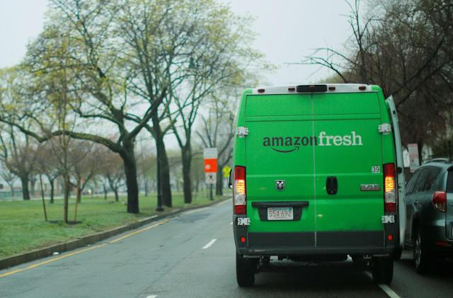 Amazon scales back its Fresh delivery service in smaller cities