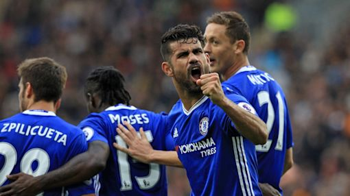 Hull 0-2 Chelsea, West Ham 1-1 Middlesbrough: Premier League as it happened