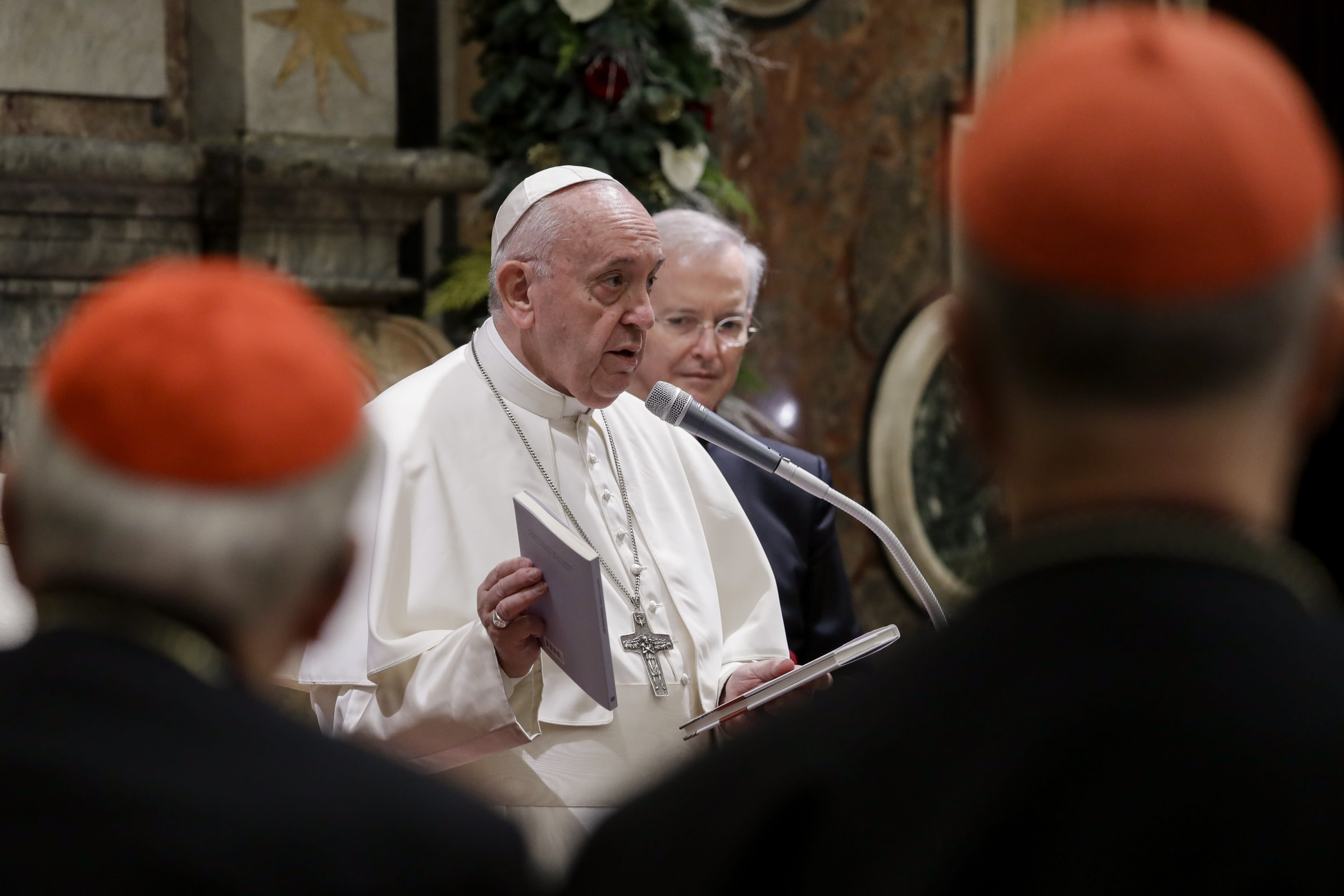 Church is losing influence, pope warns