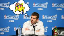 Brad Stevens really loves 'Ms. Pac-Man,' you guys