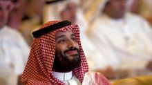 Saudi forum highlights crown prince's shifting fortunes