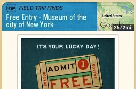 Google's Field Trip app gets you into 13 museums for free right now