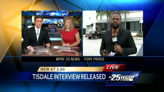 Video of Eriese Tisdale interrogation released