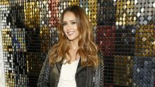 Jessica Alba Stylishly Shows Off Baby Bump at NYFW Shows -- See the Pics!
