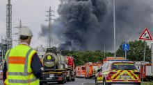 Rescuers search for 5 missing workers at German blast site