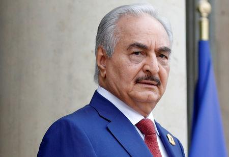 White House says Trump spoke to Libyan commander Haftar on Monday