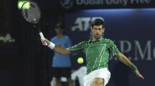 Djokovic avanza a cuartos en Dúbai y sigue invicto en 2020