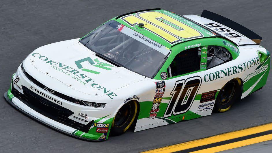 NASCAR disqualifies AJ Allmendinger's car for failing inspection