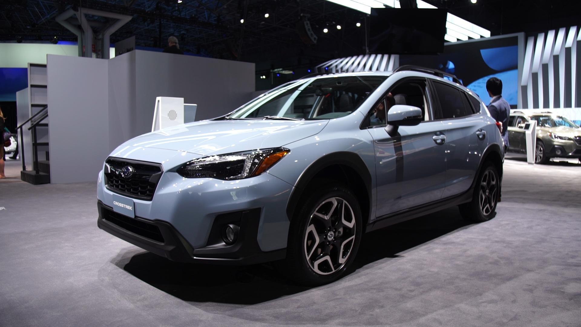 2018 subaru crosstrek looks to gain an edge in the small suv field. Black Bedroom Furniture Sets. Home Design Ideas