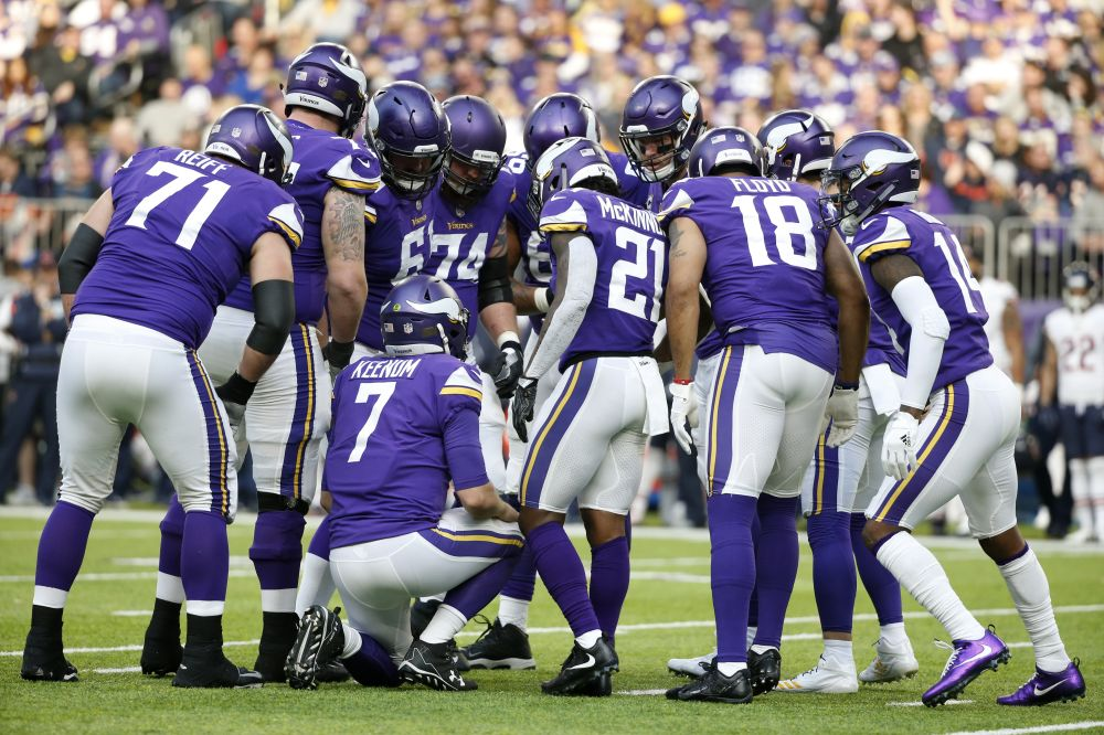 It's up to Case Keenum to take the Vikings farther than any Minnesota QB has gone since Fran Tarkenton. (AP)