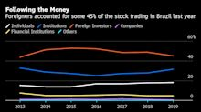 Brazil's Record-Setting Stocks Are Testing Foreigners' Appetite