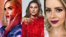 Sasha, Manu e Sandy são as inspirações de maquiagem da semana