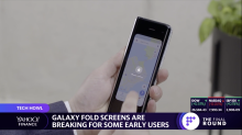 Samsung Galaxy Fold screens reportedly break for some users