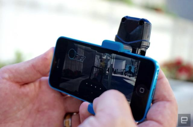 Play laser tag in the real world with this smartphone attachment