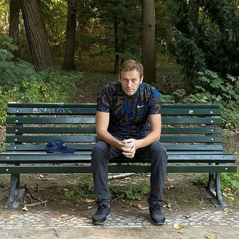 Navalny needs at least a month to be fit, predicts activist