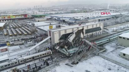 9 dead, dozens injured in Turkey train crash