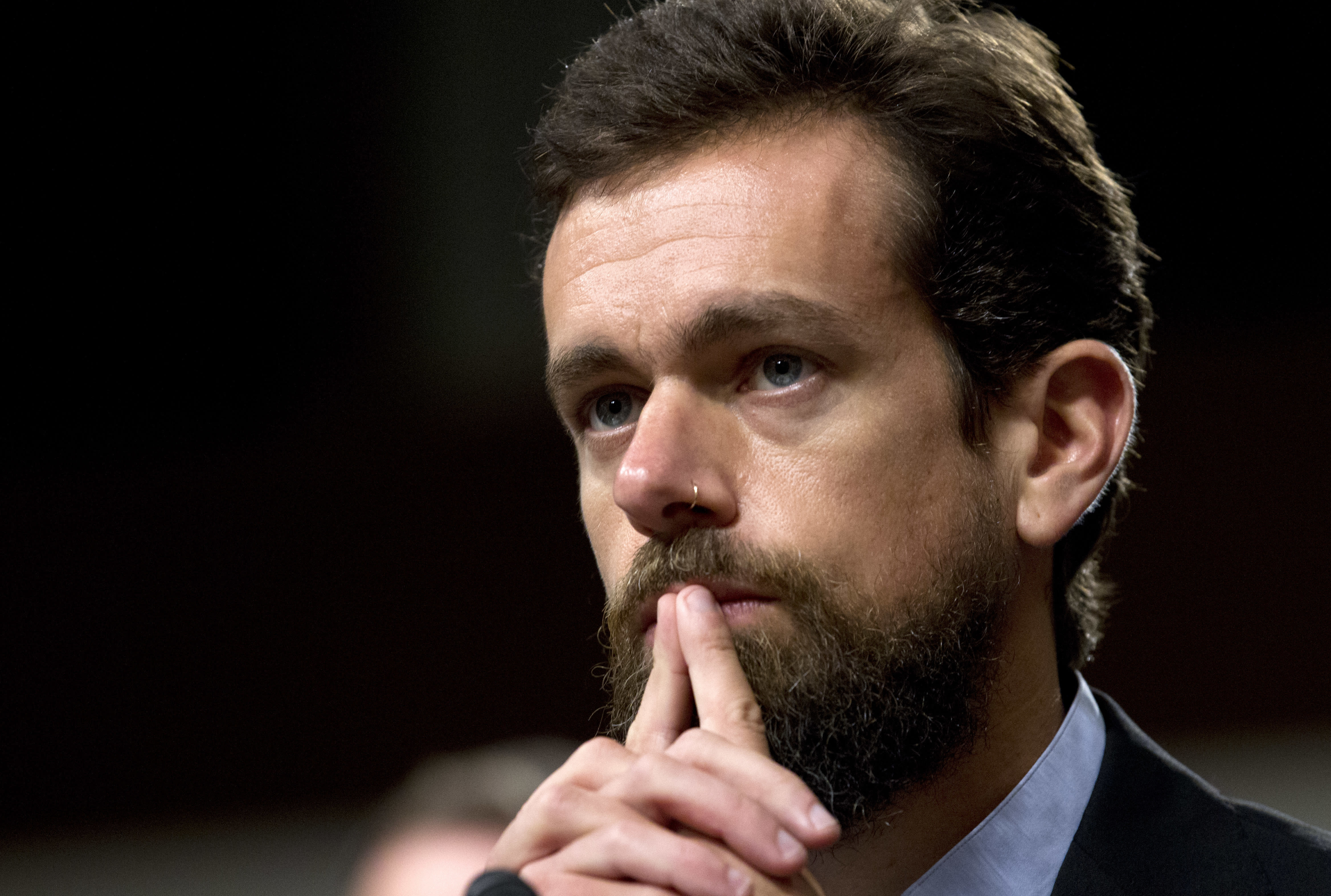"Twitter CEO Jack Dorsey gives himself a ""C"" grade for tech responsibility"