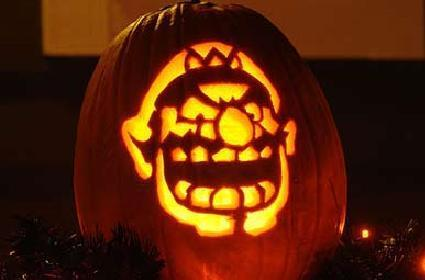 Happy Halloween! Check out some Nintendo-themed pumpkins