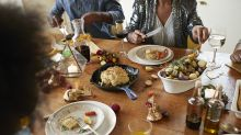 Here's what eating a festive dinner does to your body