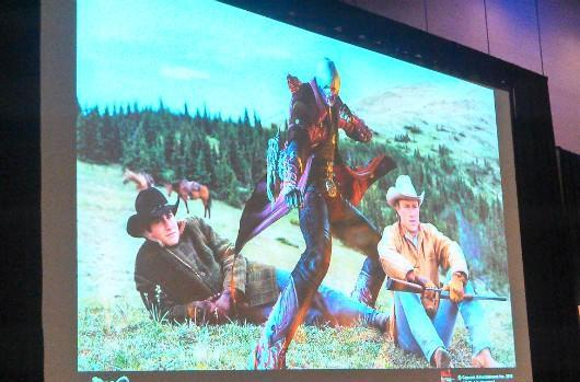 Seen@GDC: 'Imagine Dante in a Western movie'