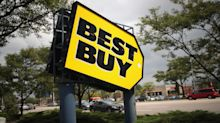 Best Buy sinks, Apple on way to $1T, Facebook's new alert, Netflix passes Disney and Comcast in market value