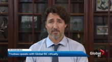 Prime Minister Trudeau speaks one-on-one with Global BC