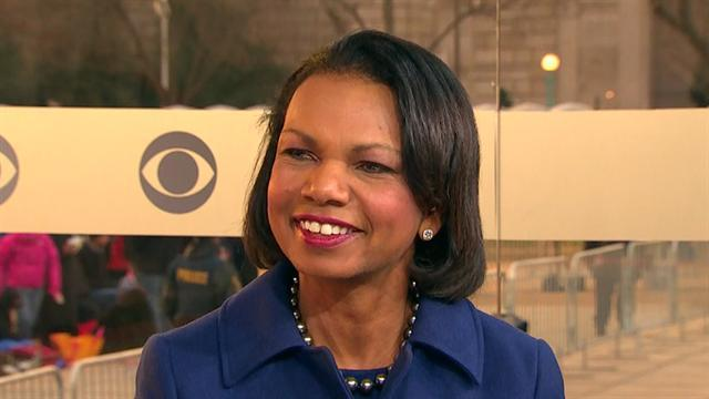 Rice: Obama must continue to focus on Middle East