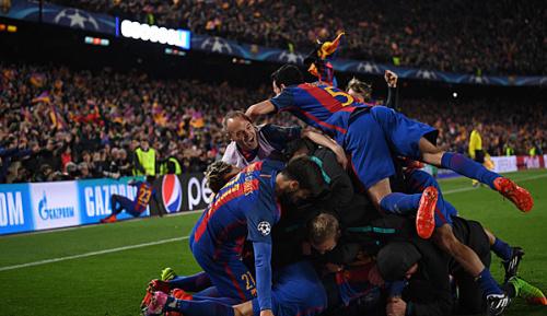 Champions League: Fans des FC Barcelona verursachen Erdbeben