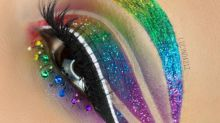Das Internet ist verrückt nach diesem Augen-Make-Up!