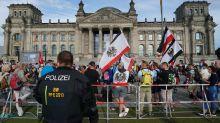 Corona-Proteste: Politiker bestürzt über Ereignisse am Reichstag