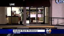 Police Search For Bank Robbers Who Staged Violent Takeover In Mar Vista