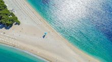 La magnifica spiaggia di Brazza, in Croazia