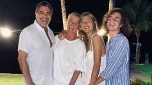 Sasha Meneghel mostra fotos do Ano Novo em família