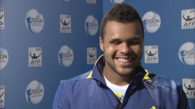 Queen's - Tsonga attend Murray