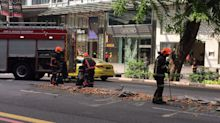 Broken eggs cause 'obstacle' along Orchard Road