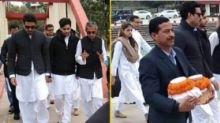 Abhishek, Navya Naveli Attend Ritu Nanda's Last Rites at Haridwar