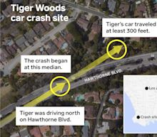 Residents describe road where Tiger Woods crashed as 'a real danger,' especially for drivers unfamiliar with the area