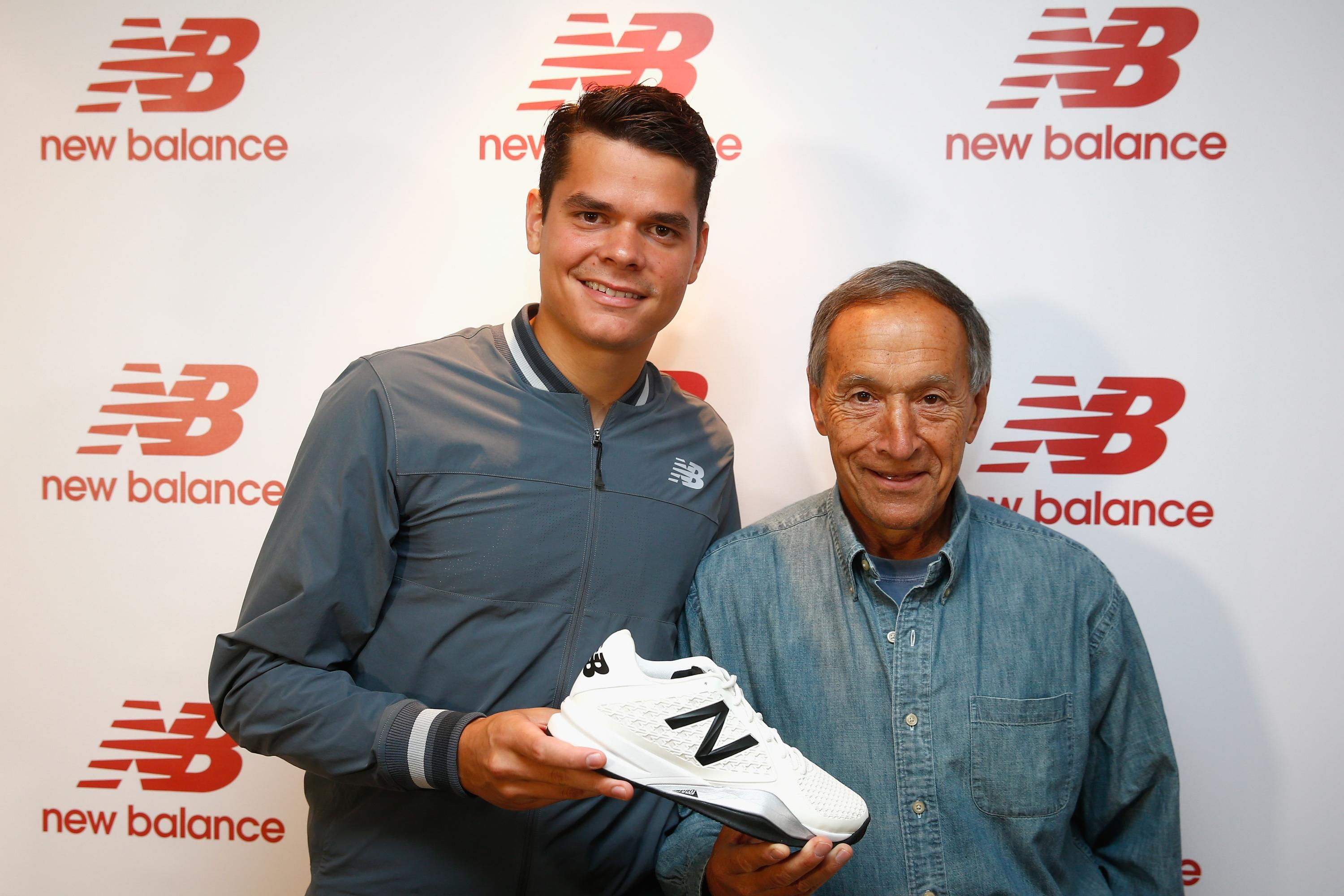 Captivating Canadian Tennis Star Milos Raonic Signs Lifetime Deal With Clothing Sponsor  New Balance With Clothing Sponsorship