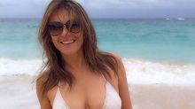 Elizabeth Hurley Shows Off Her Stunning Bikini Body at 51
