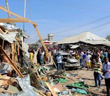 Car bomb blast in Somalia marketplace