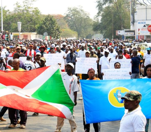 Protest in Burundi after UN decides to send police
