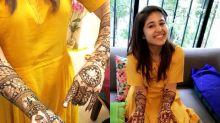 Wedding celebration on full swing for Shweta Tripathi and Chaitanya Sharma aka Slow Cheeta